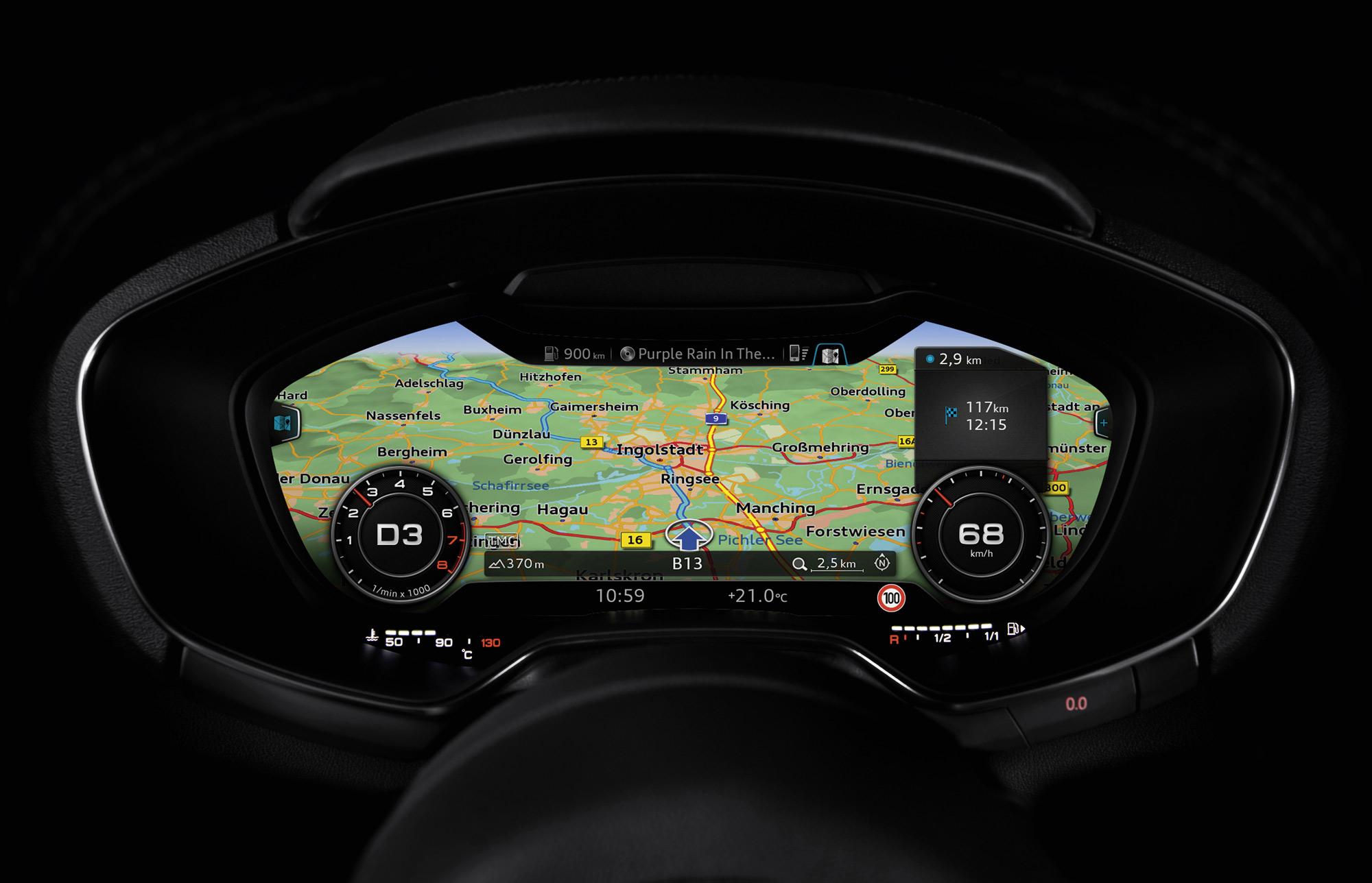 Audi cockpit details
