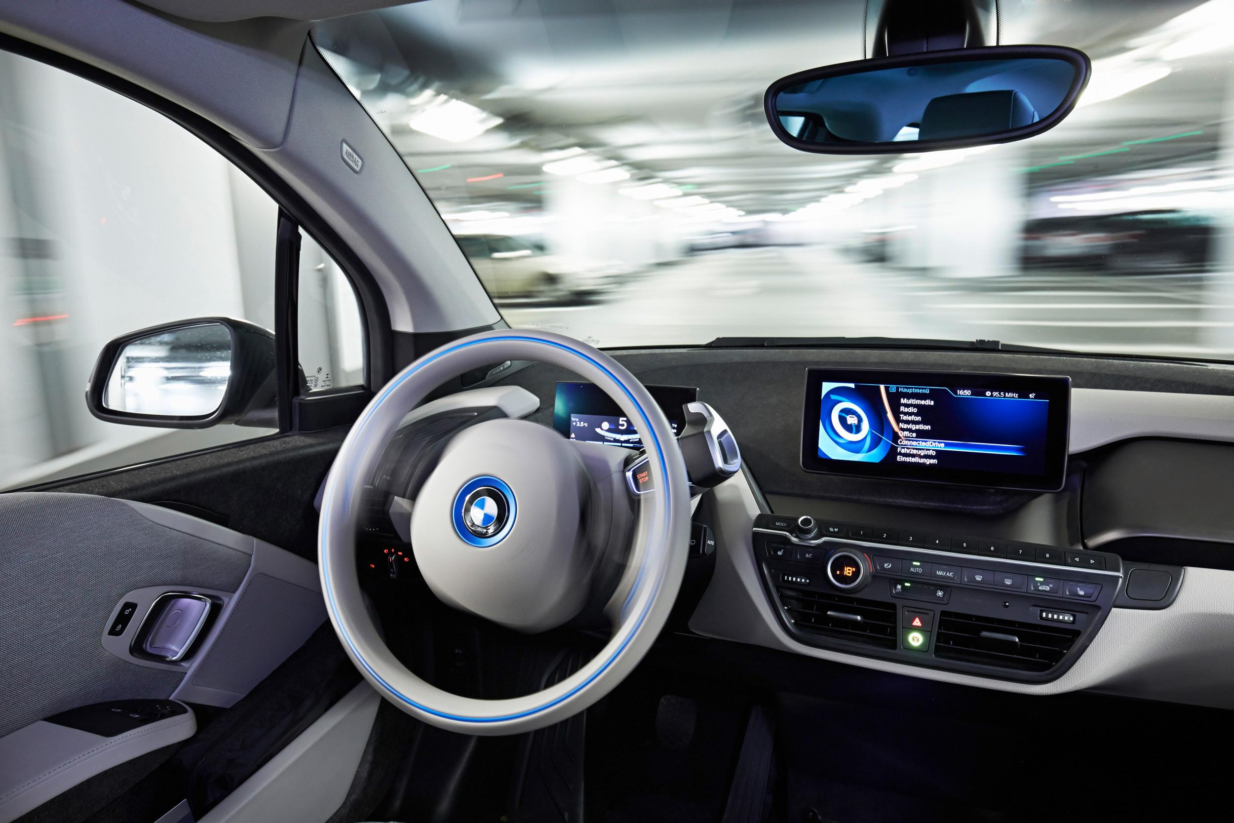 BMW autonomous interior