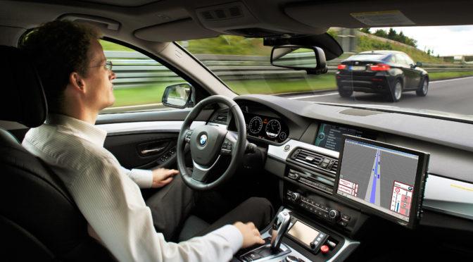 BMW self-driving interior
