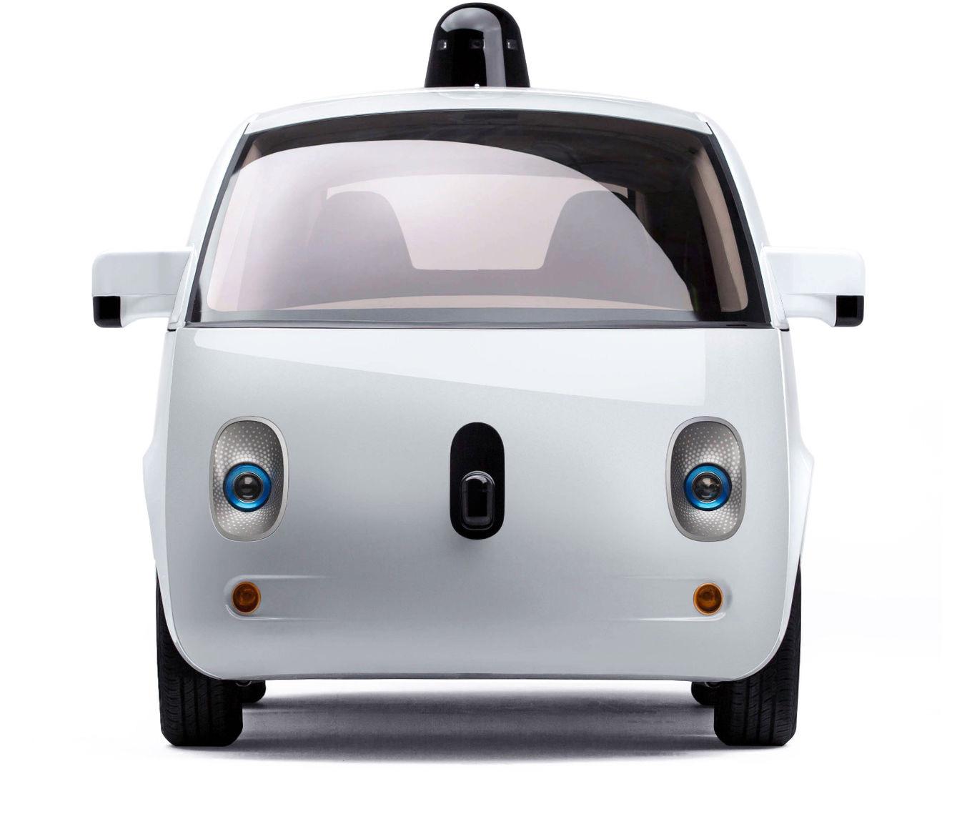 Google car front