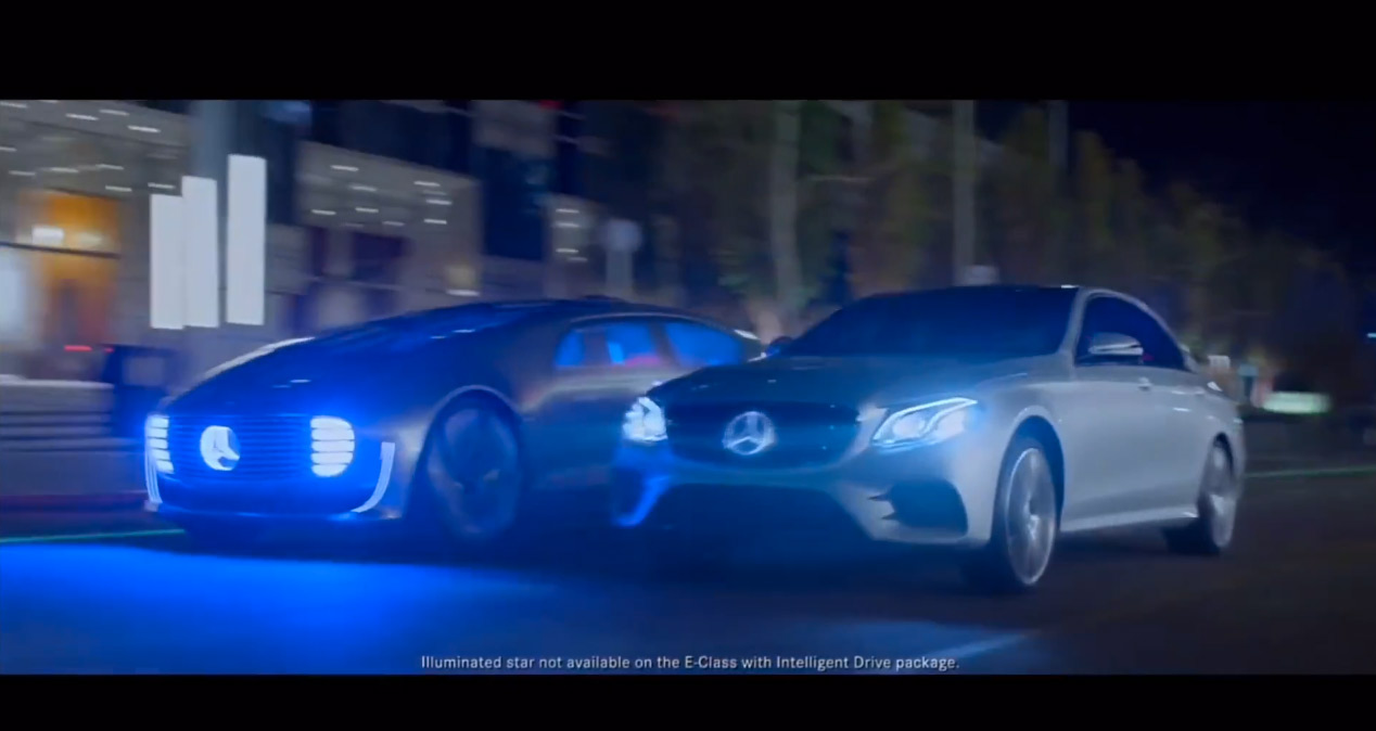 Mercedes-Benz The Future TV Ad E-Class