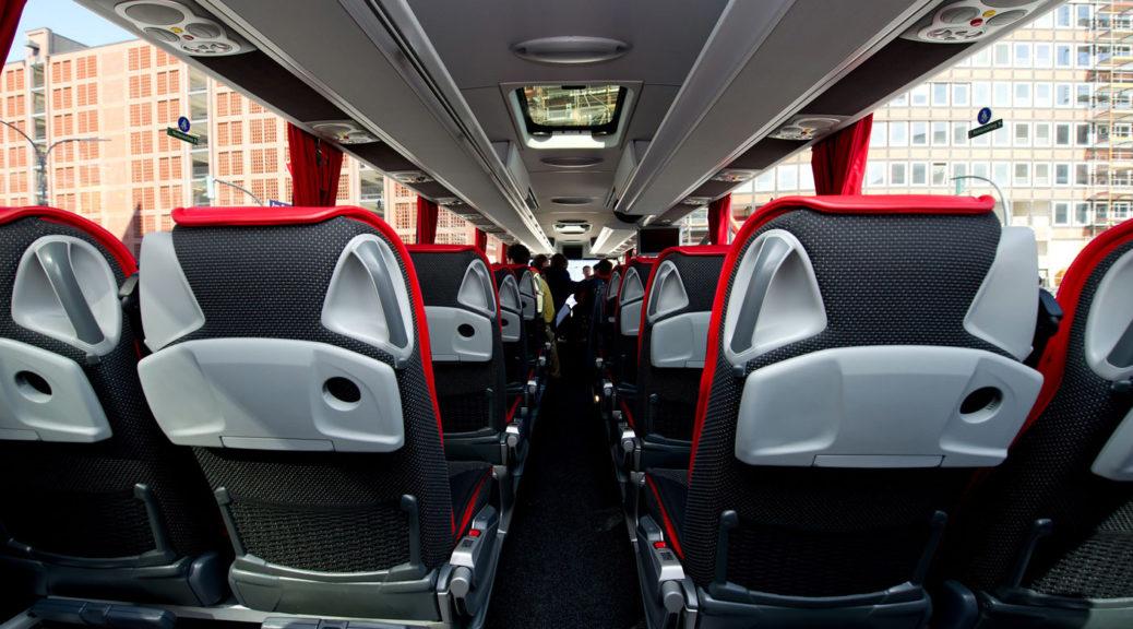 Public Bus interior