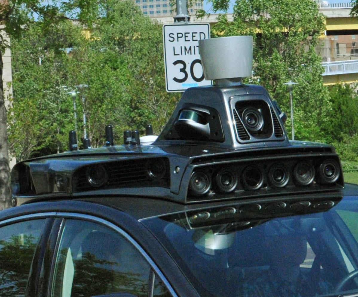 Uber Ford Fusion autonomous car details