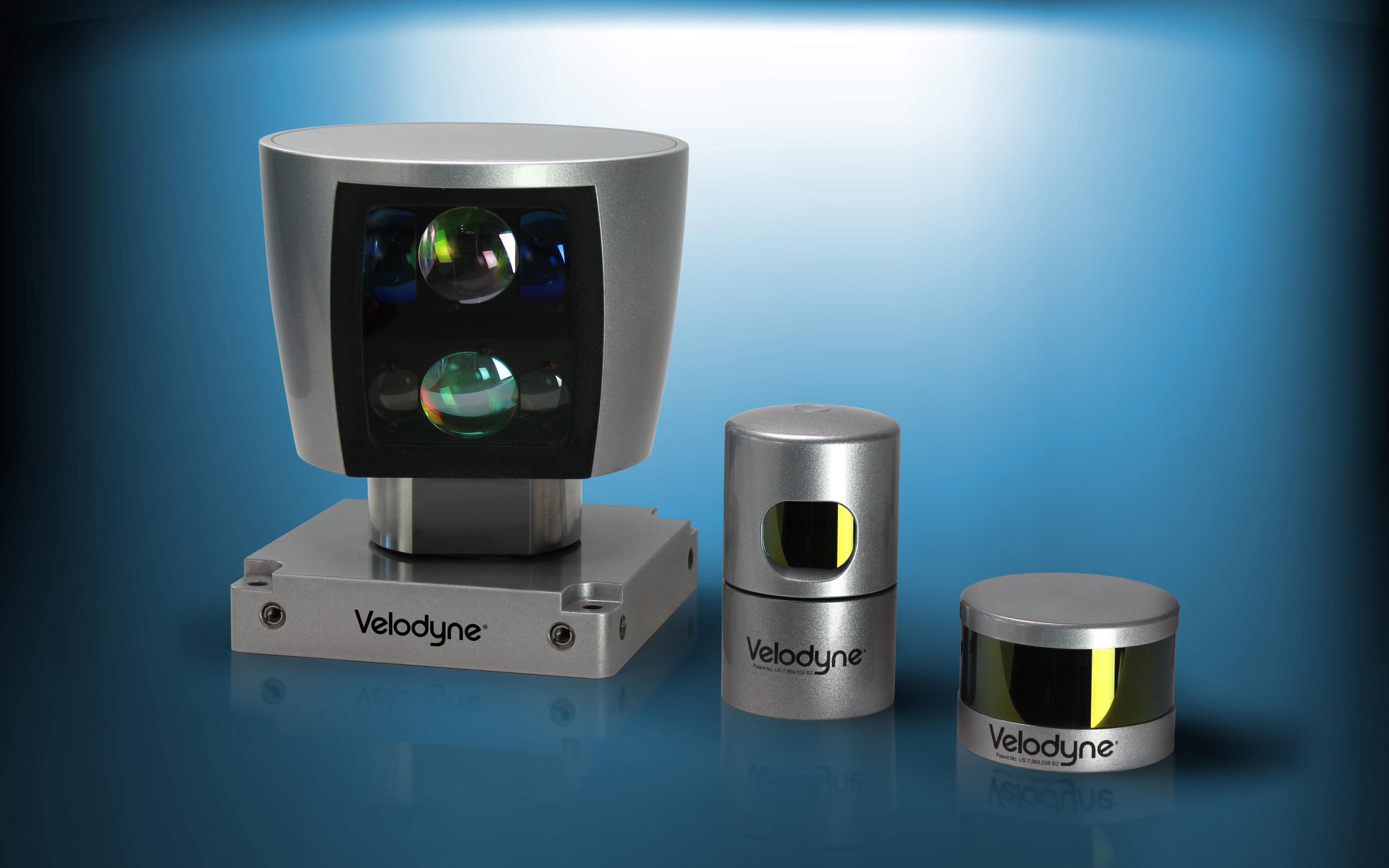 Velodyne Lidar sensors