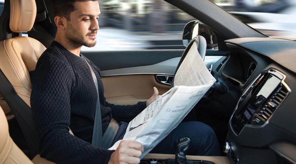 Volvo Intellisafe Autopilot interior