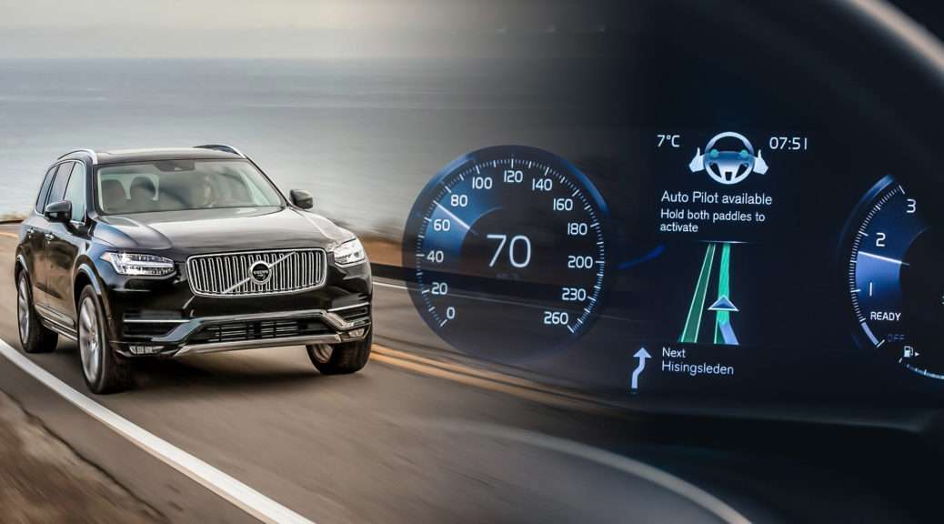 Volvo XC90 drive-me intellisafe