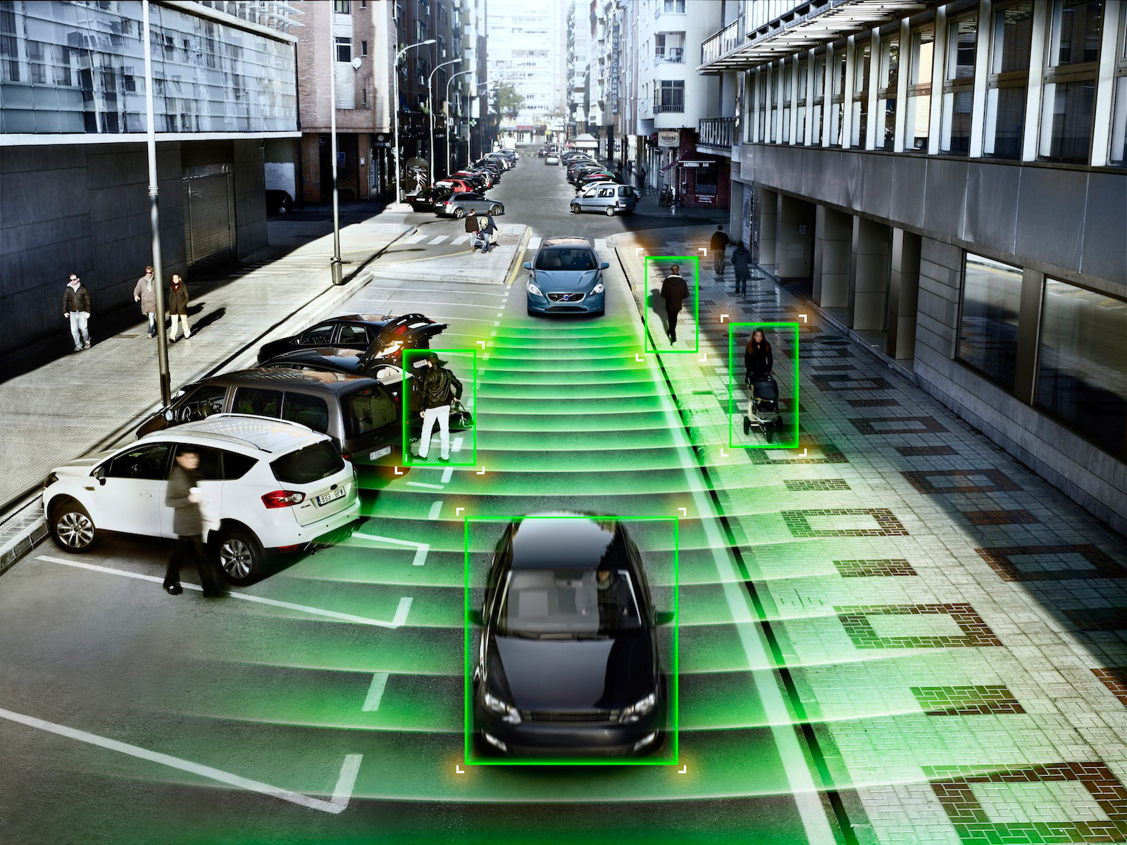 Volvo smart cities graphics