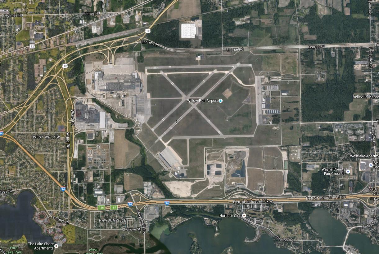 Willow Run Airport Michigan