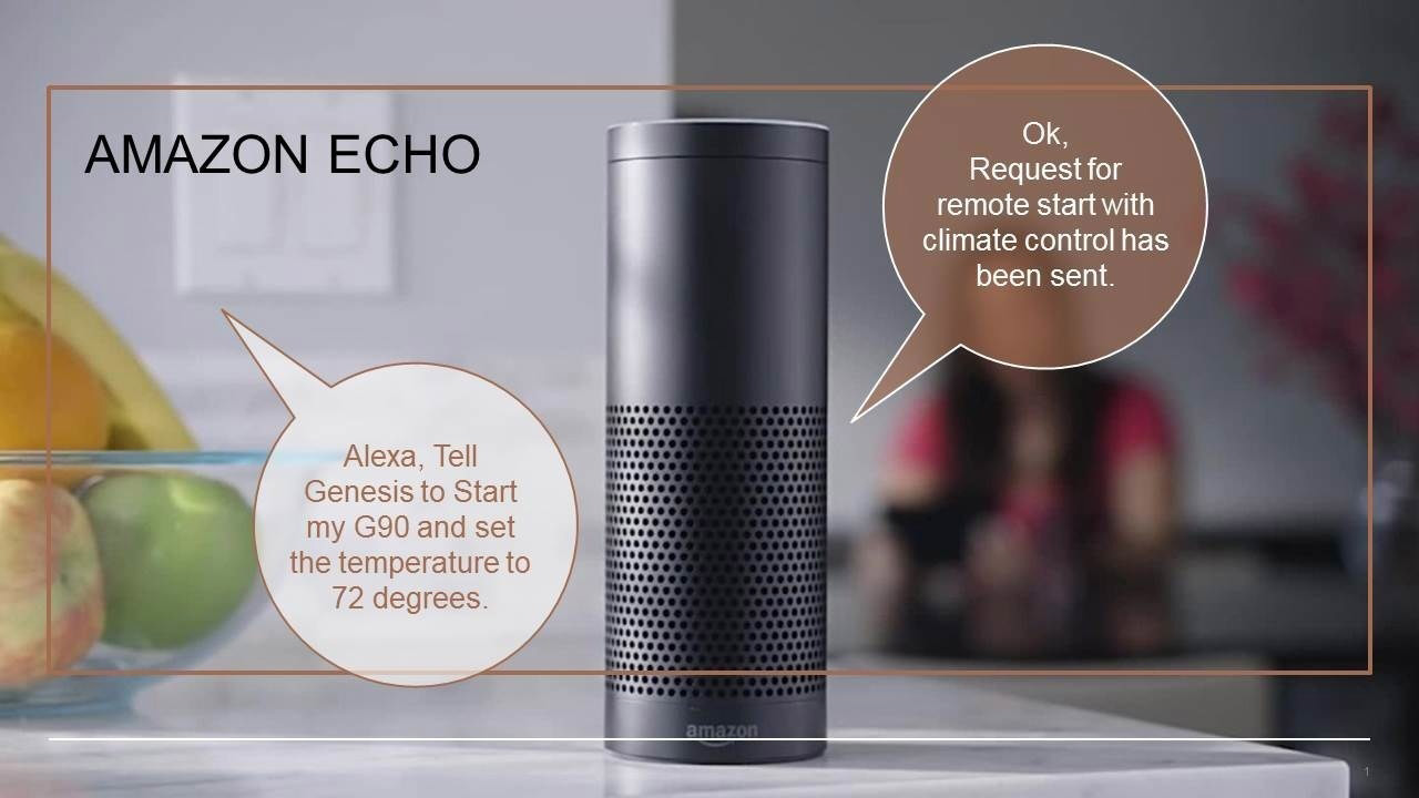 Amazon Echo Genesis G90