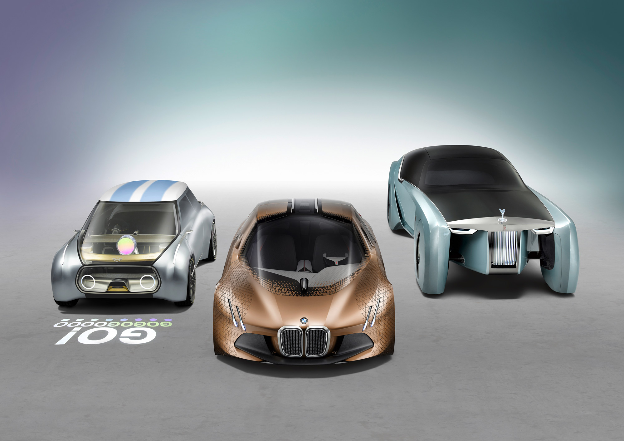 BMW next 100 years fleet