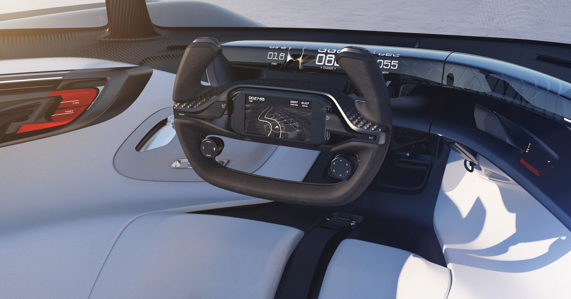 Faraday Future FFZERO1 Concept interior