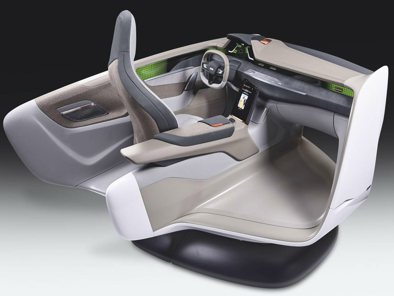 Faurecia Self-Driving Car Seat