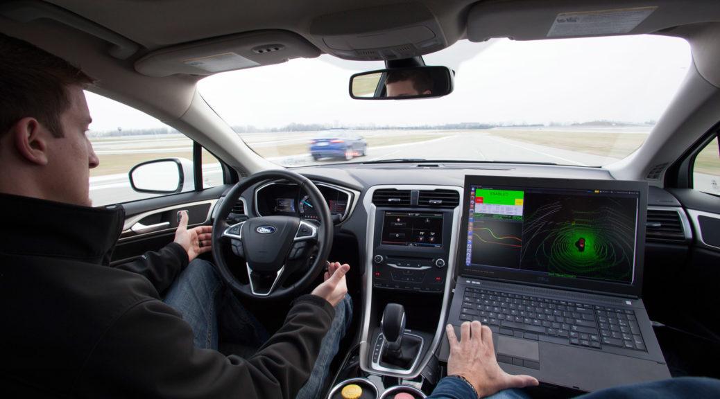 Ford Fusion hybrid interior laptop
