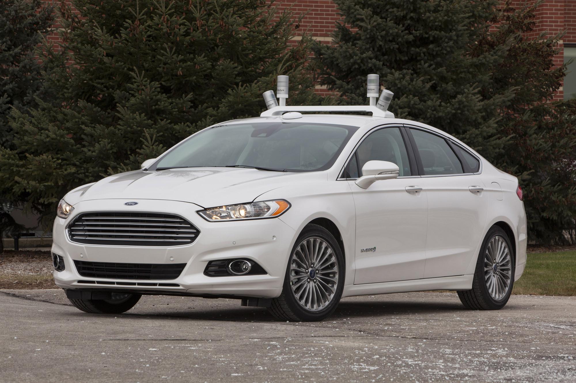 Ford Fusion hybrid autonomous car