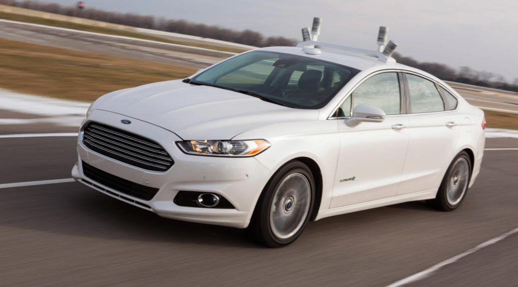 Ford Fusion hybrid lidar velodyne