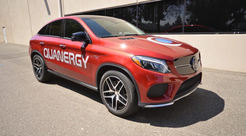 Quanergy Systems LiDAR car