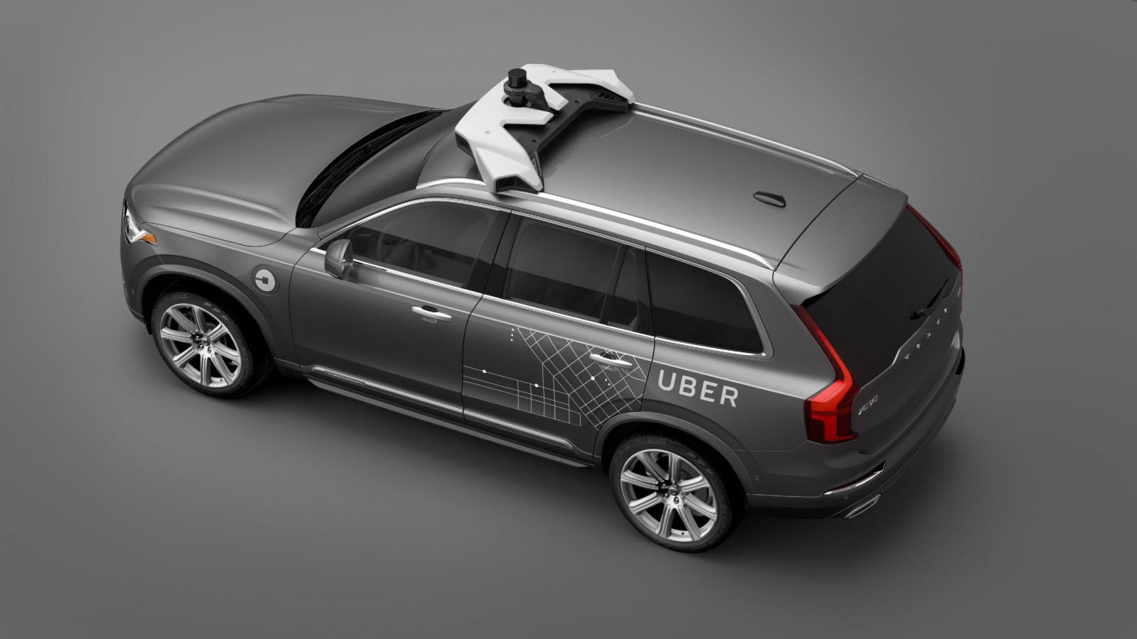 Uber Vovlo XC90 sport