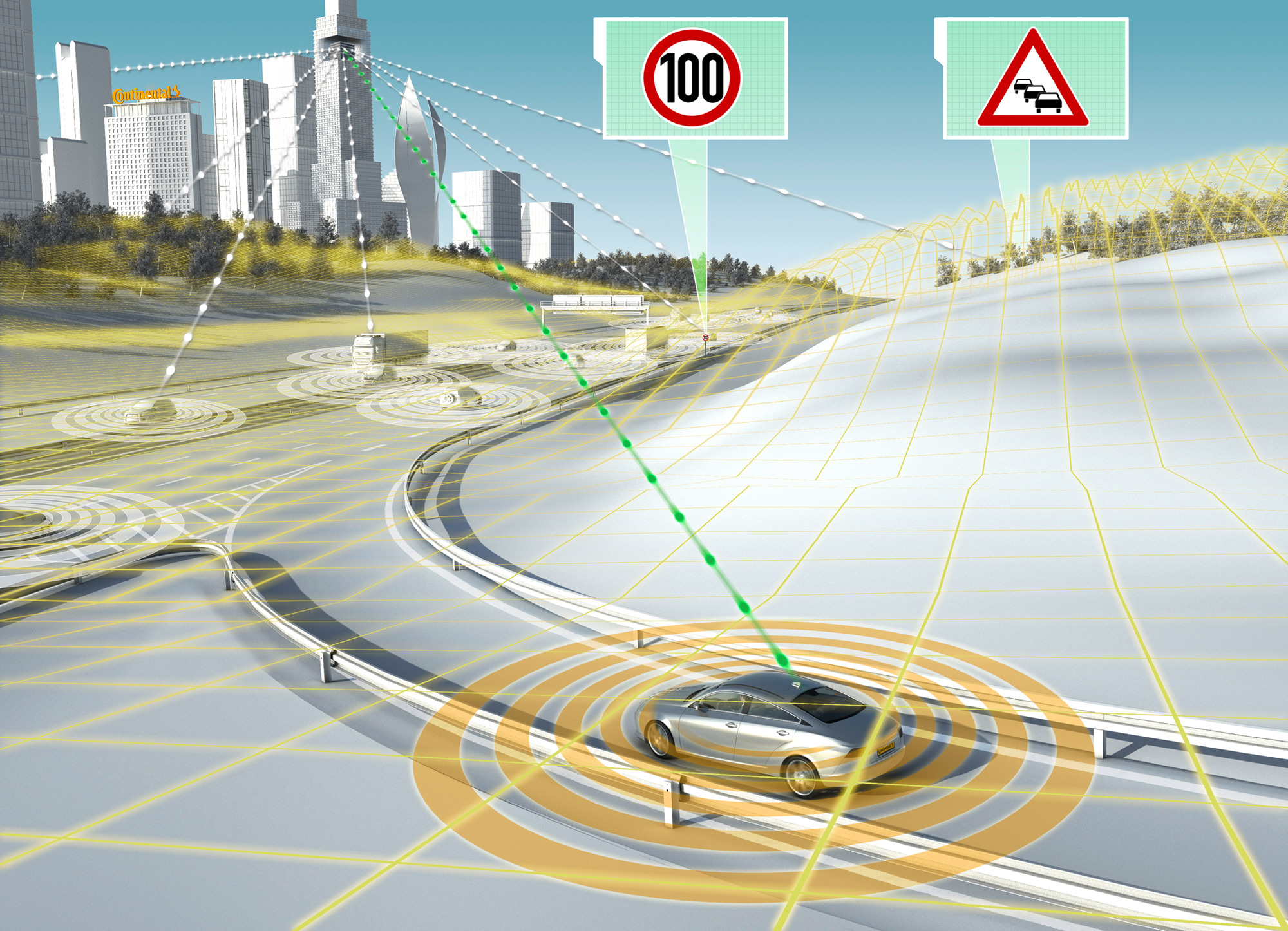 connected cars smart cities