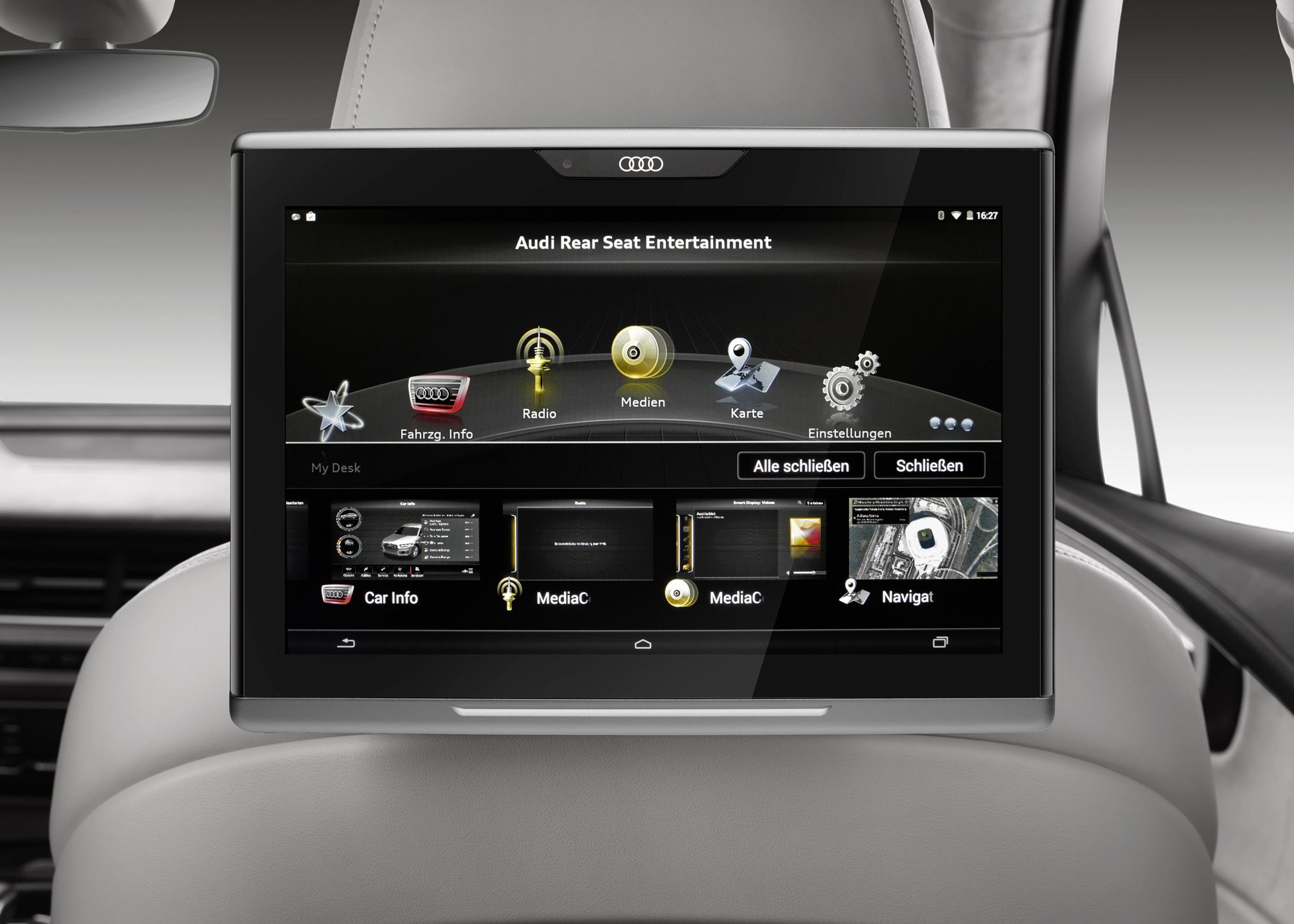 audi connect infotainment