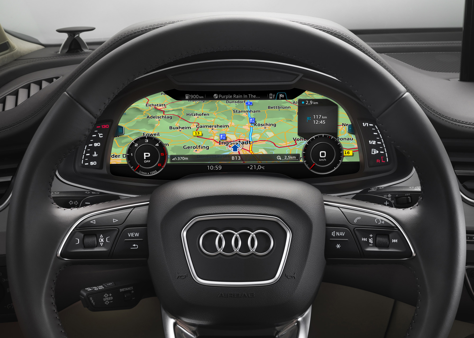 audi connect maps