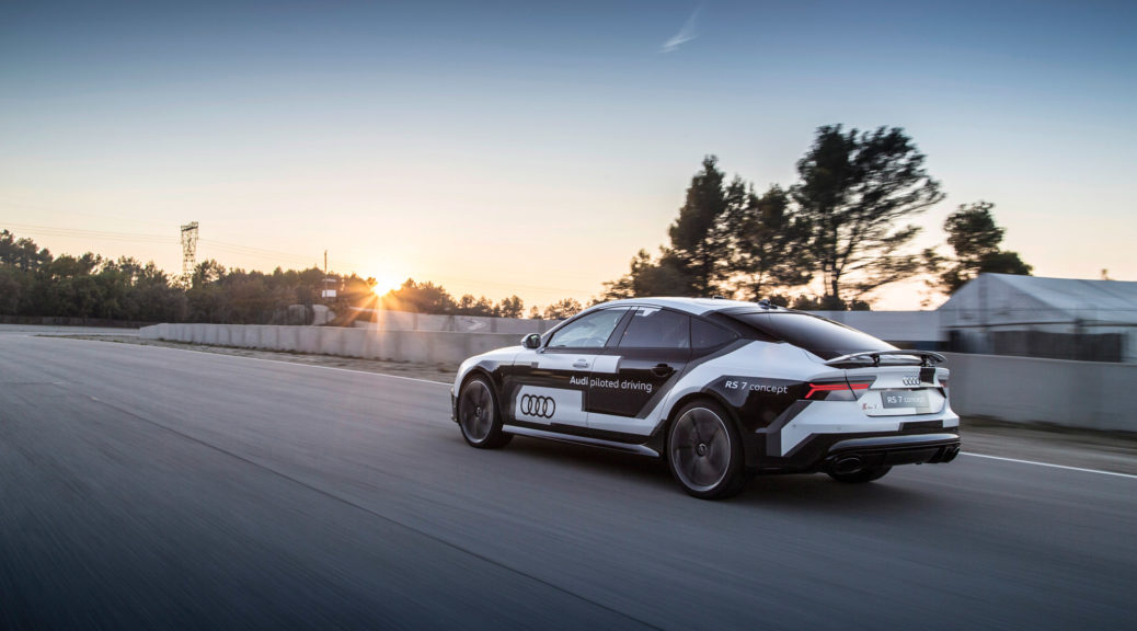 audi rs 7 concept piloted driving
