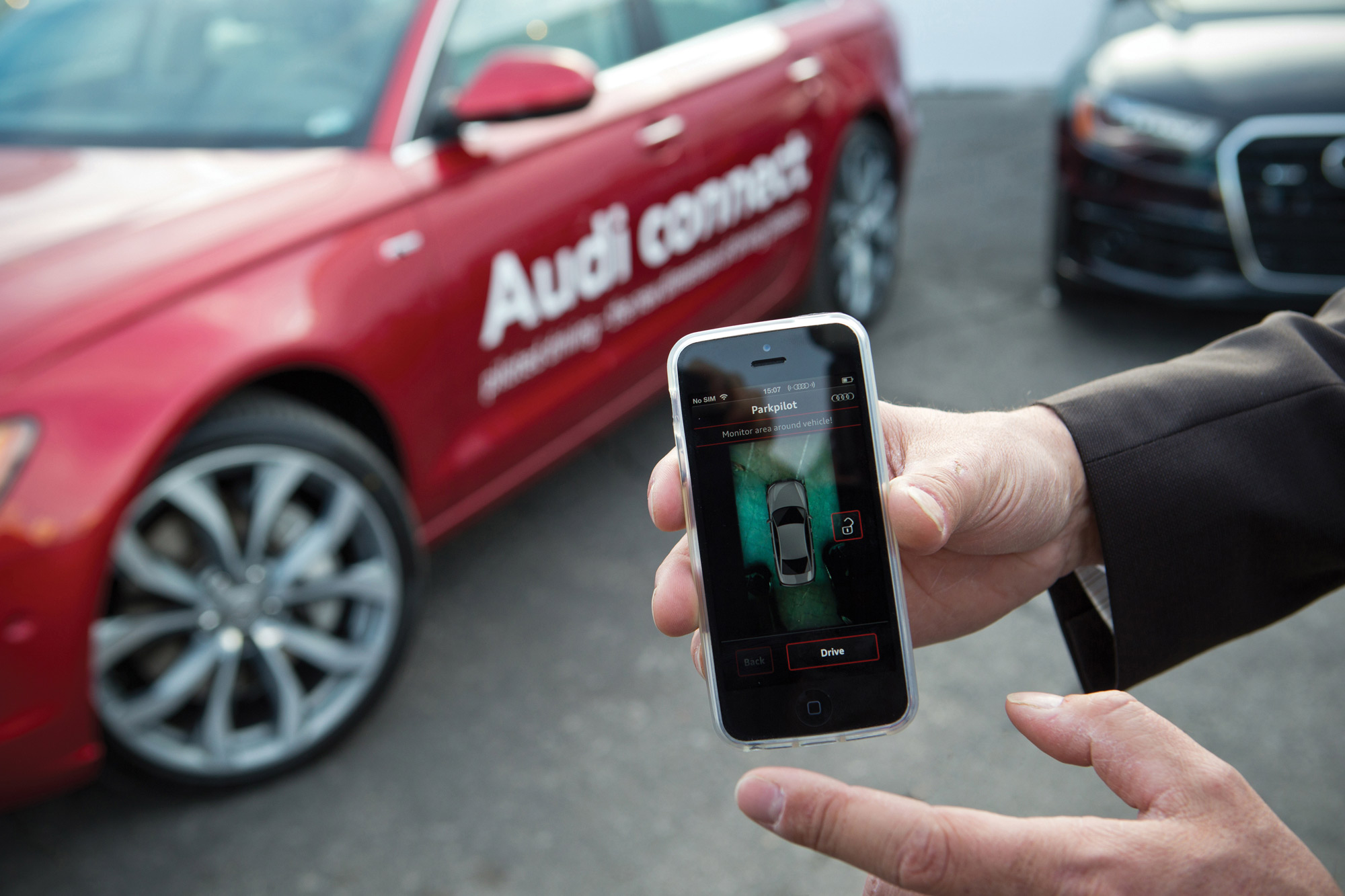audi connect smartphone