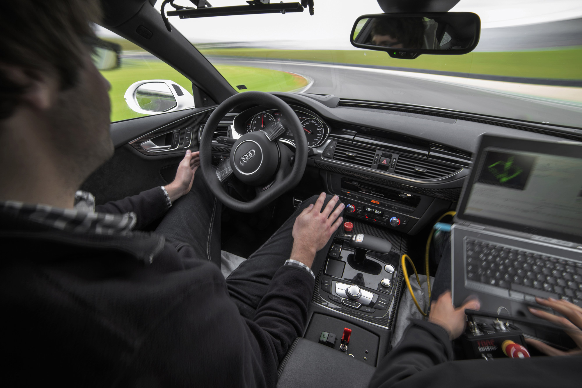 audi piloted driving hands-off