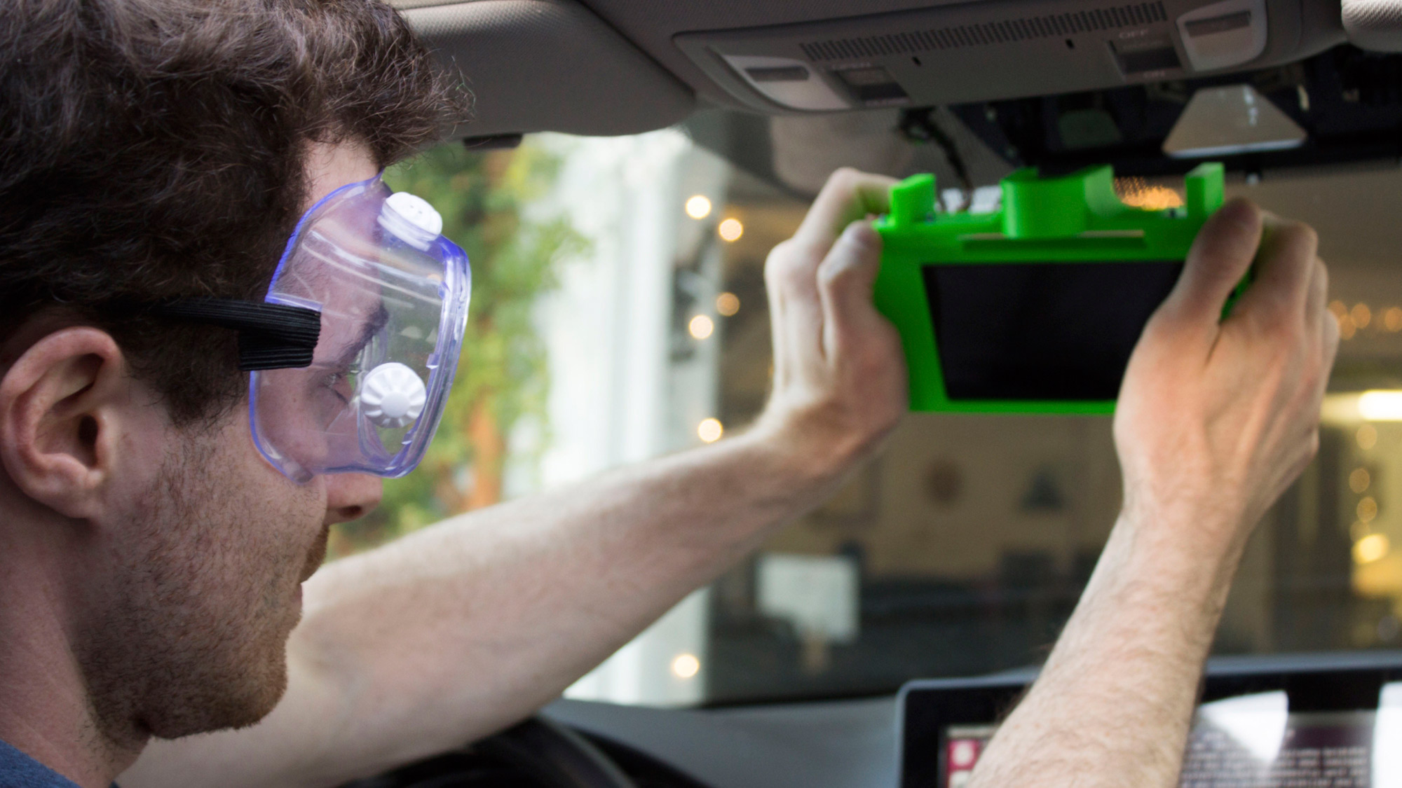 George Hotz Comma One self-driving kit