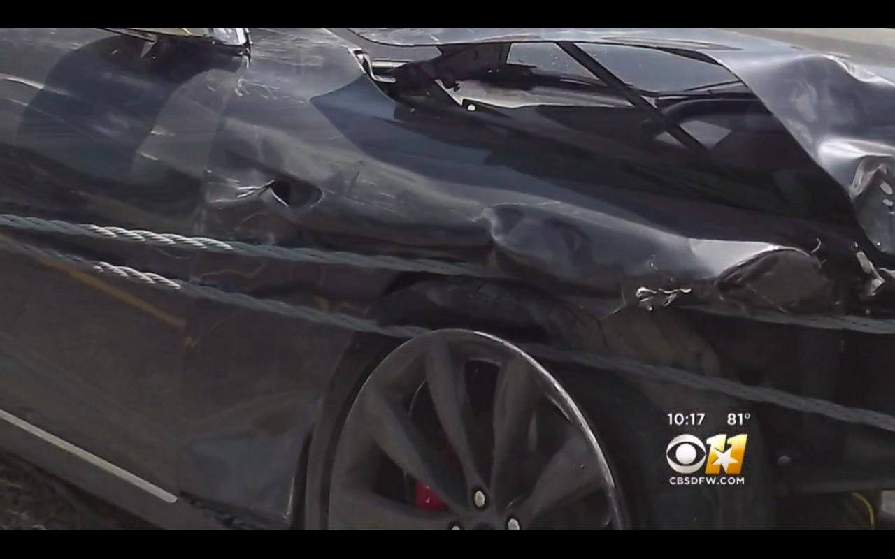 Mark Molthan Tesla Model S crash