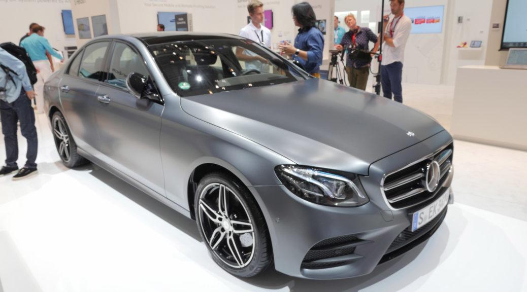 Mercedes-Benz E200 IFA 2016