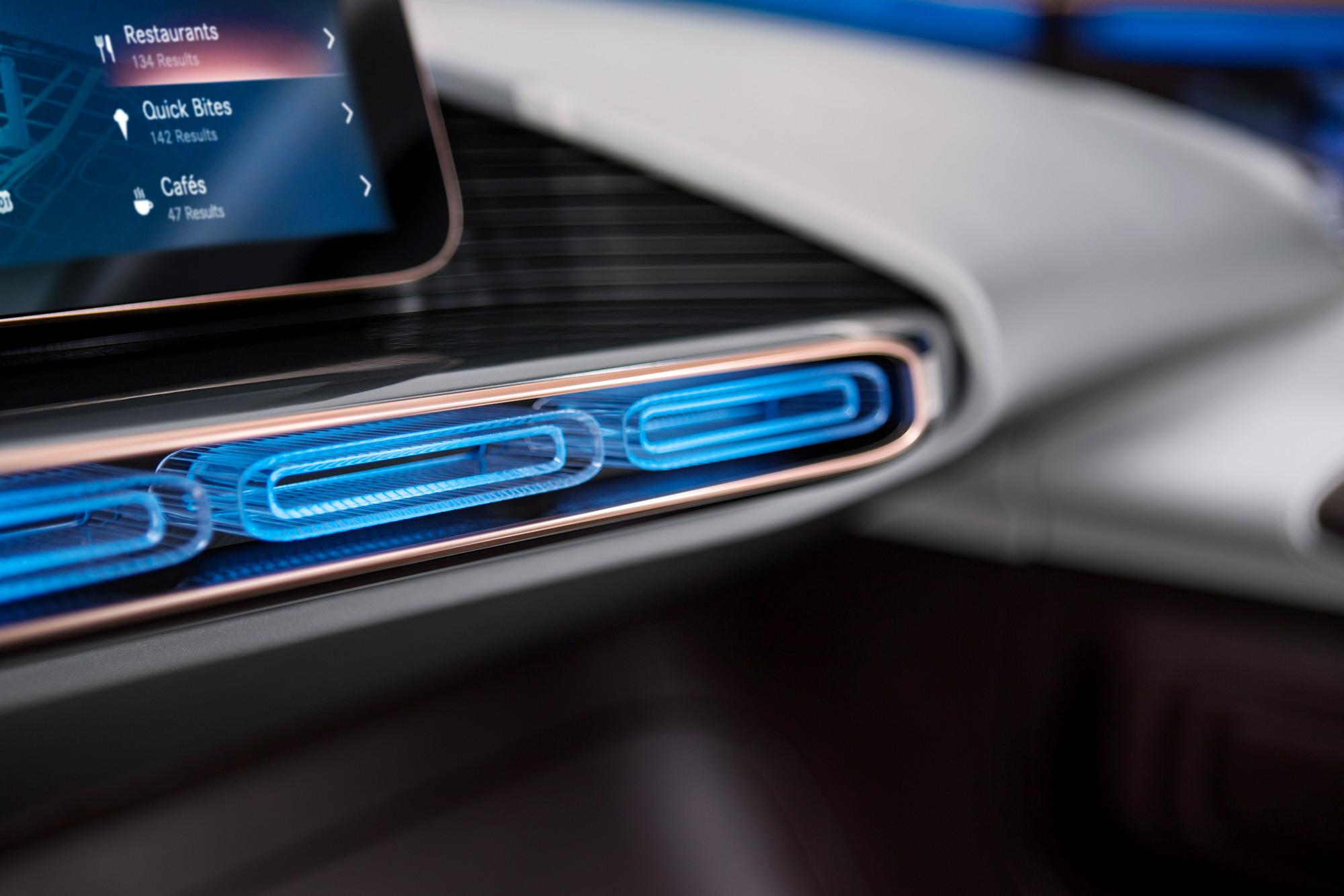 Mercedes-Benz Generation EQ interior