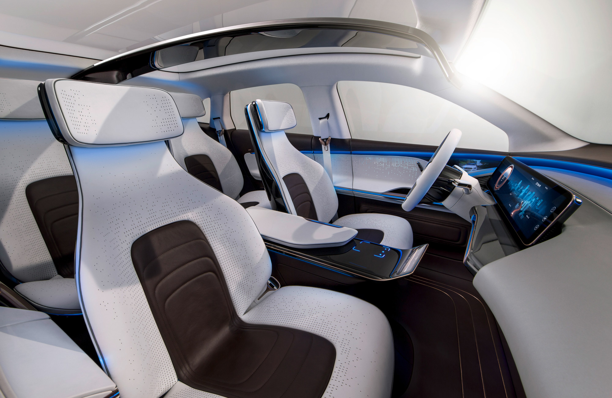 Mercedes-Benz Generation EQ interior