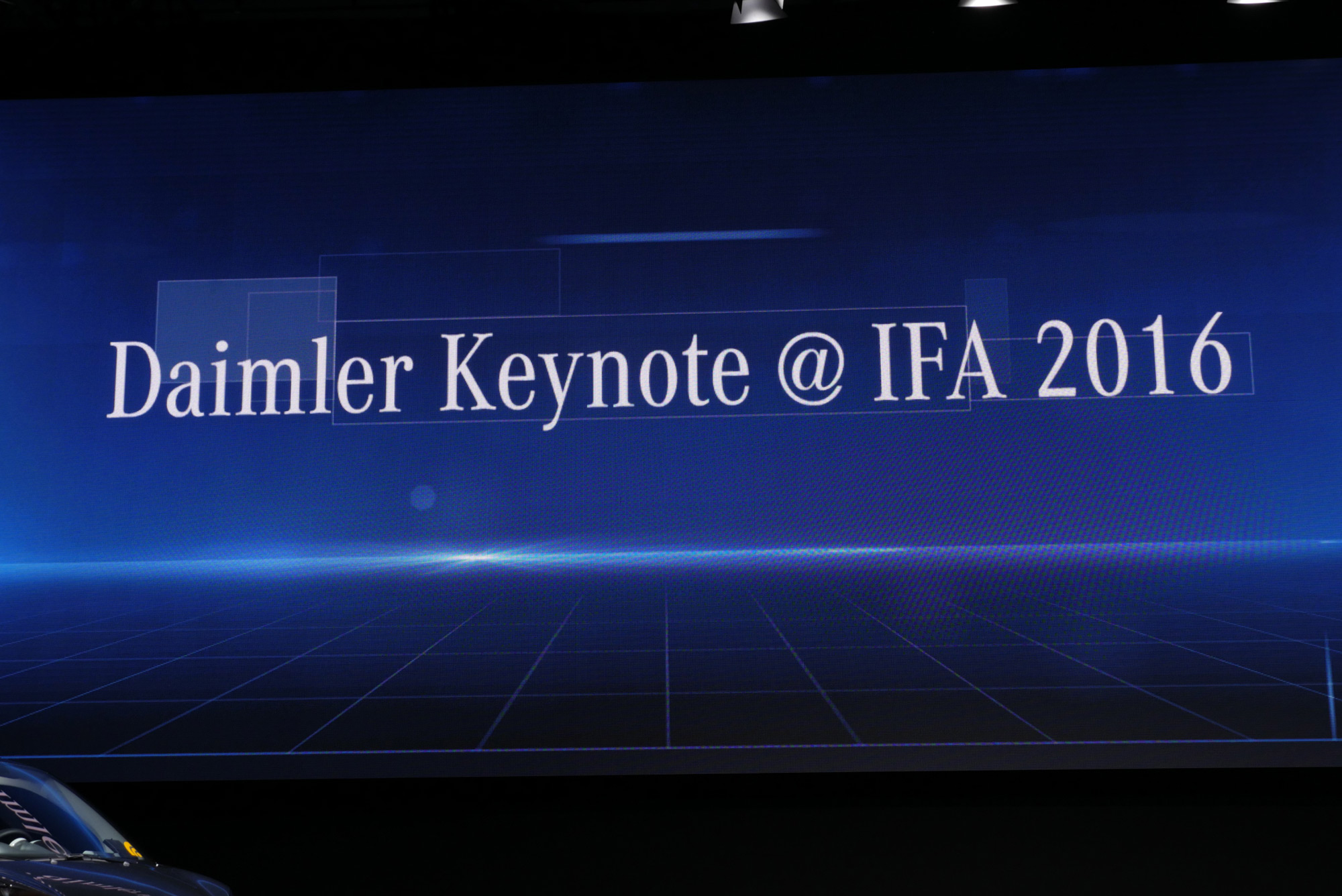 Mercedes-Benz IFA 2016 Keynote