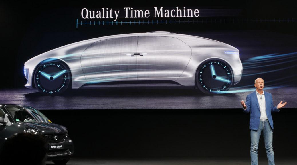 Mercedes CEO Dieter Zetsche Quality Time Machine