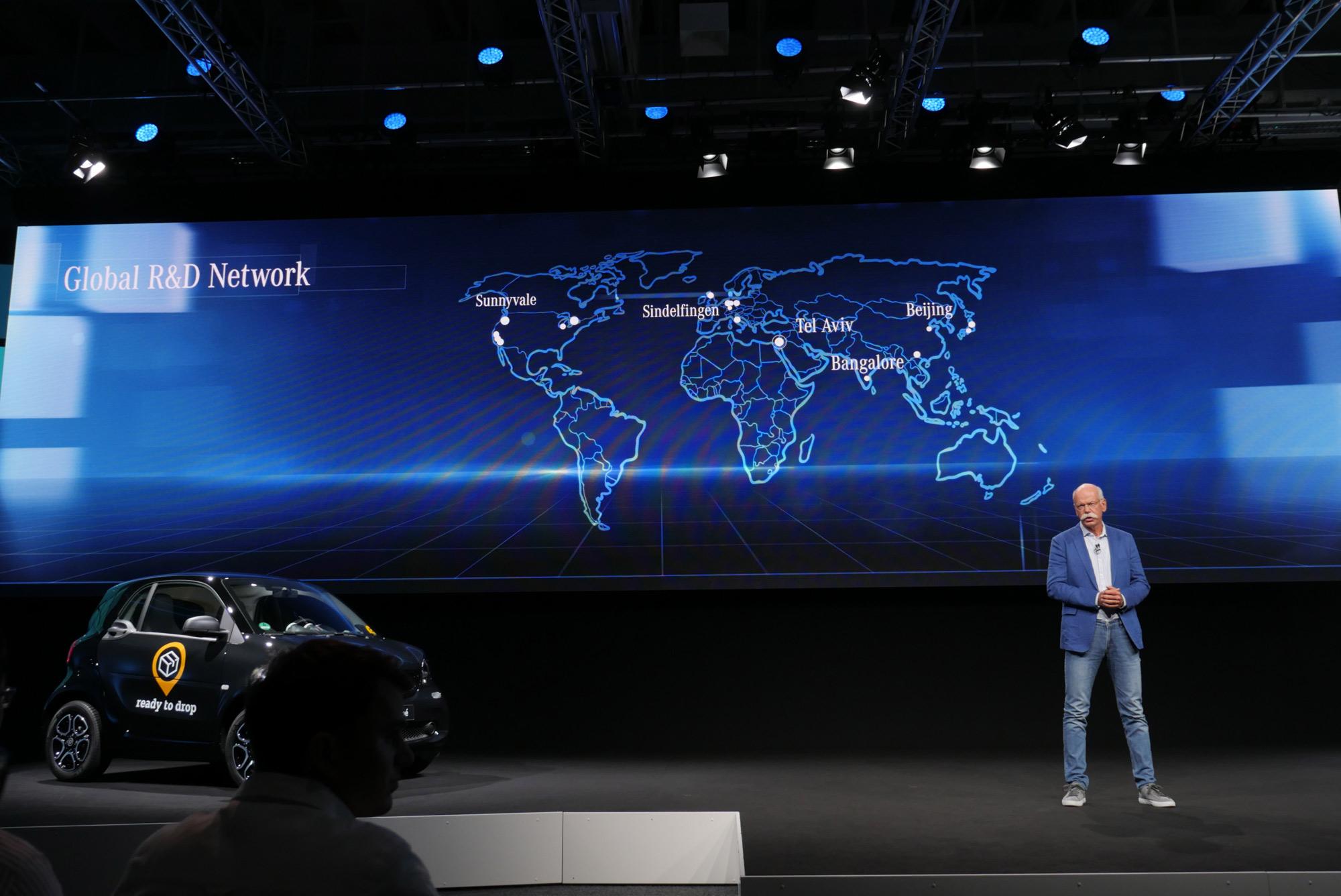 Mercedes CEO Dieter Zetsche RnD Network