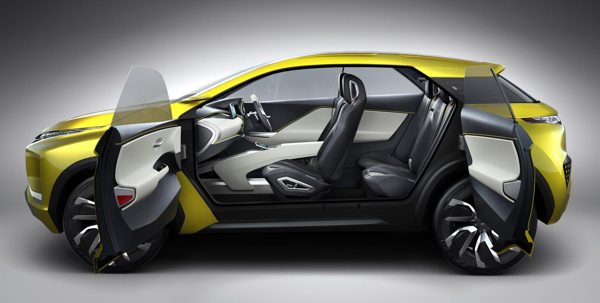 Mitsubishi Ex Concept interior