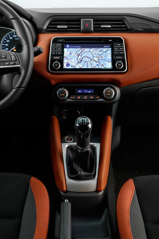 Nissan Micra Gen5 interior