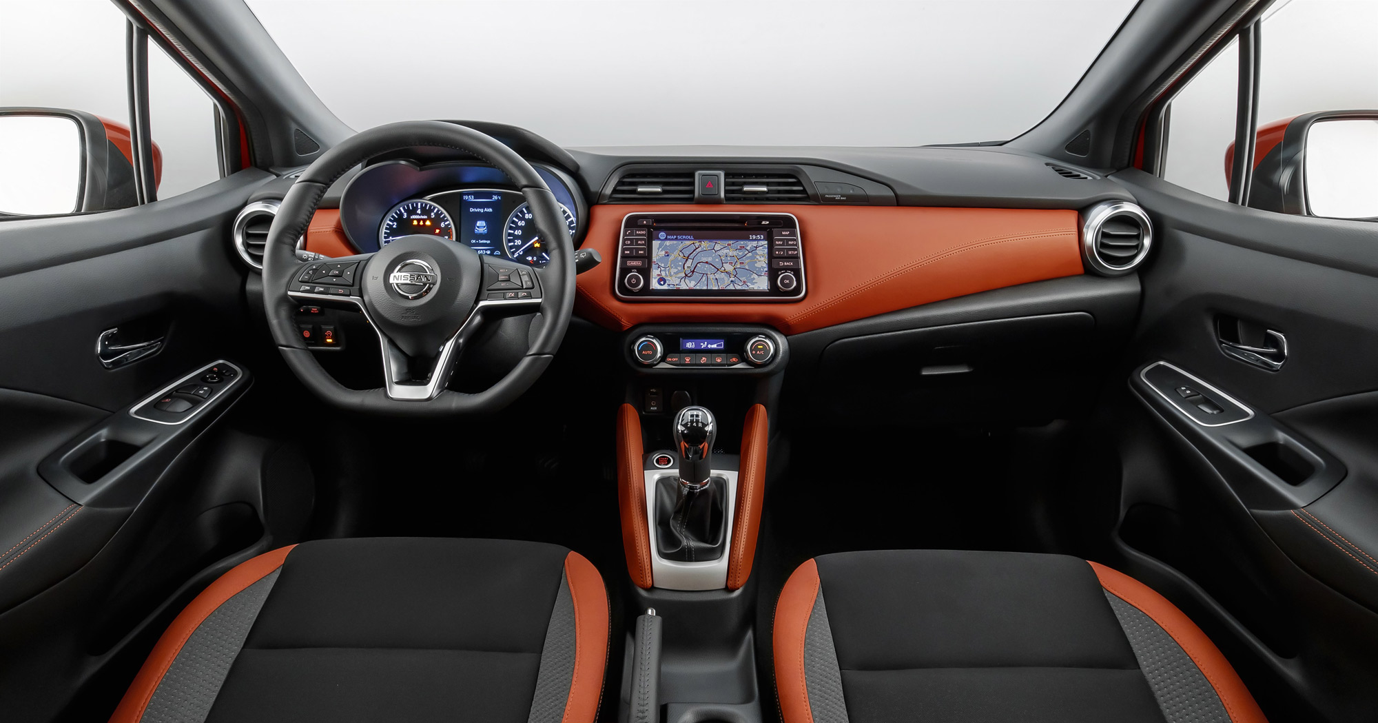 Nissan Micra Gen Interior