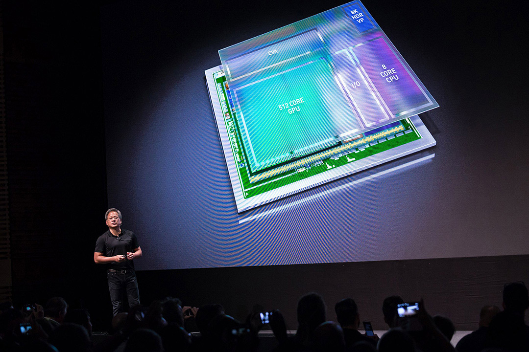 Nvidia Xavier Supercomputer AI