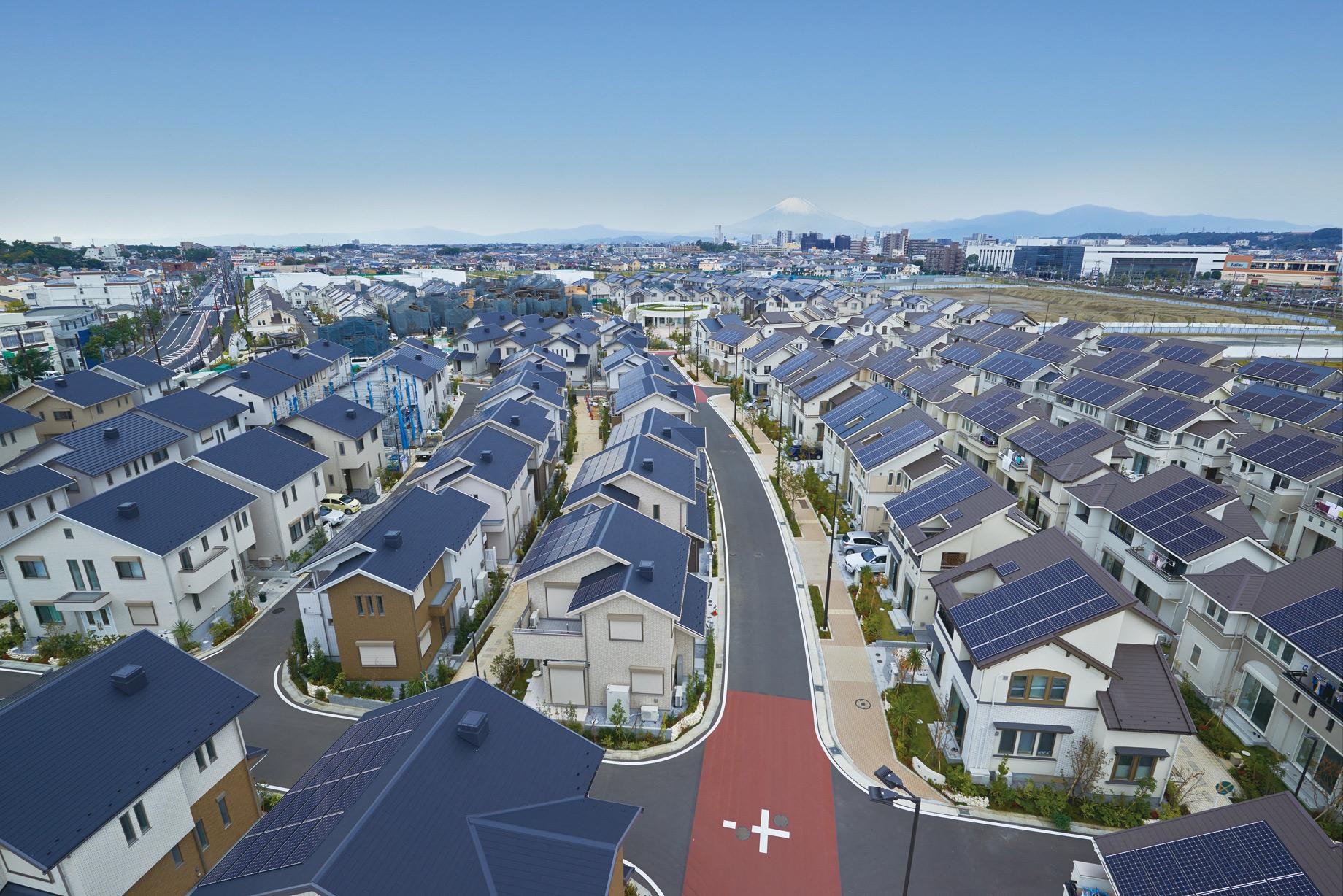 Panasonic Fujisawa smart city