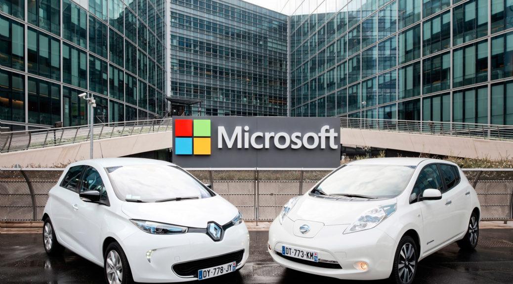 Renault-Nissan Alliance Microsoft