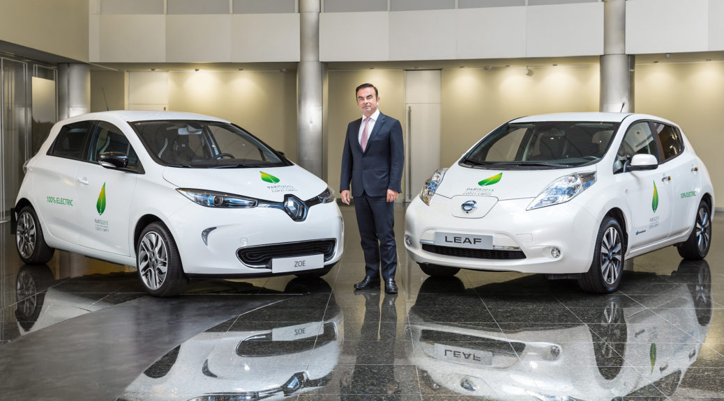renault nissan alliance electric cars