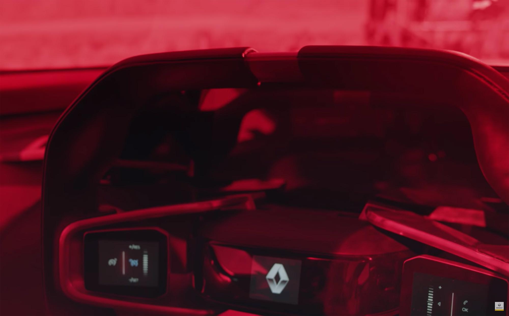 Renault Trezor teaser interior