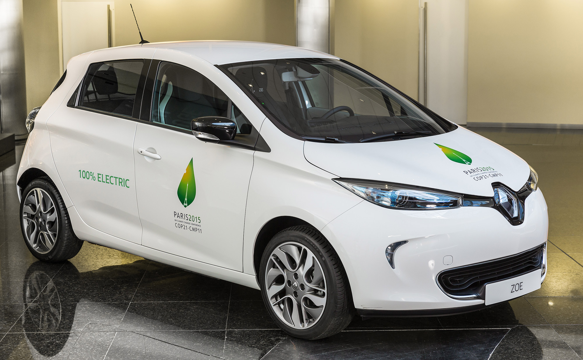 renault zoe electric vehicle ev