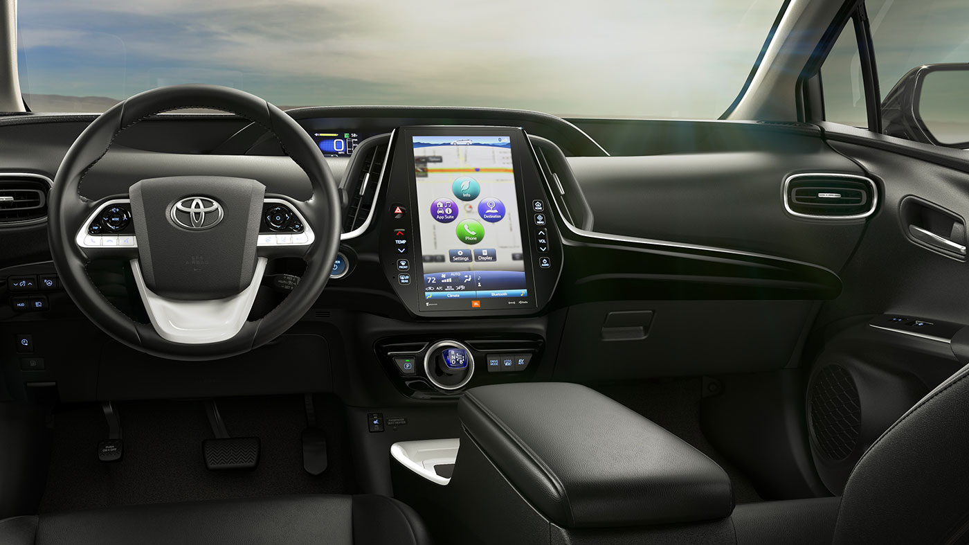 Toyota connected interior