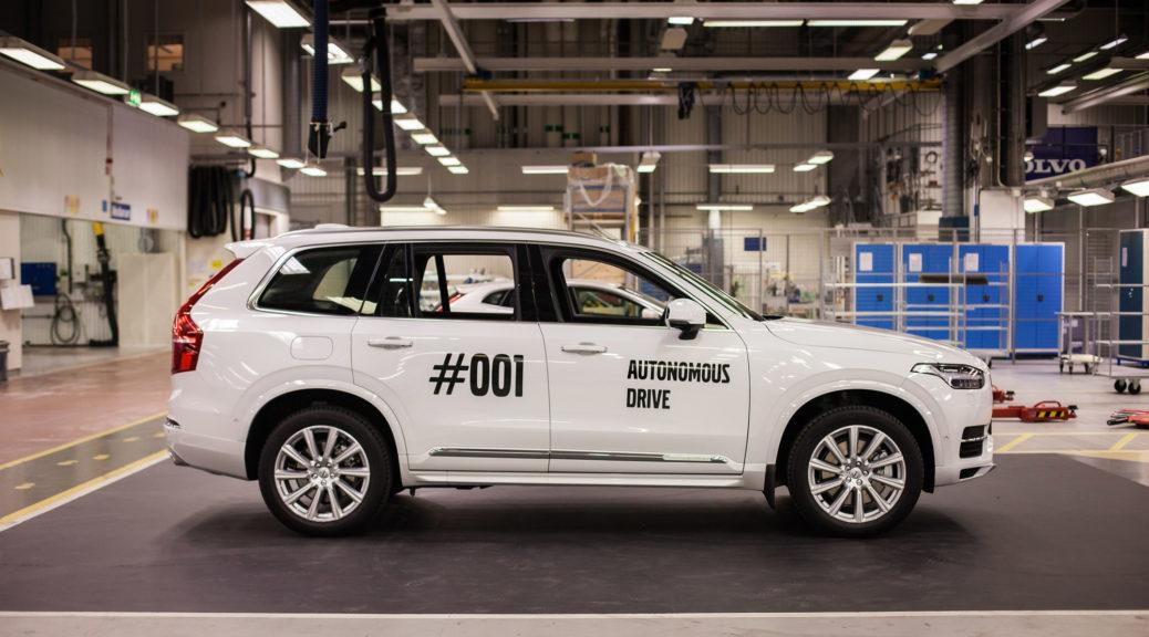 Volvo Drive Me 001 autonomous