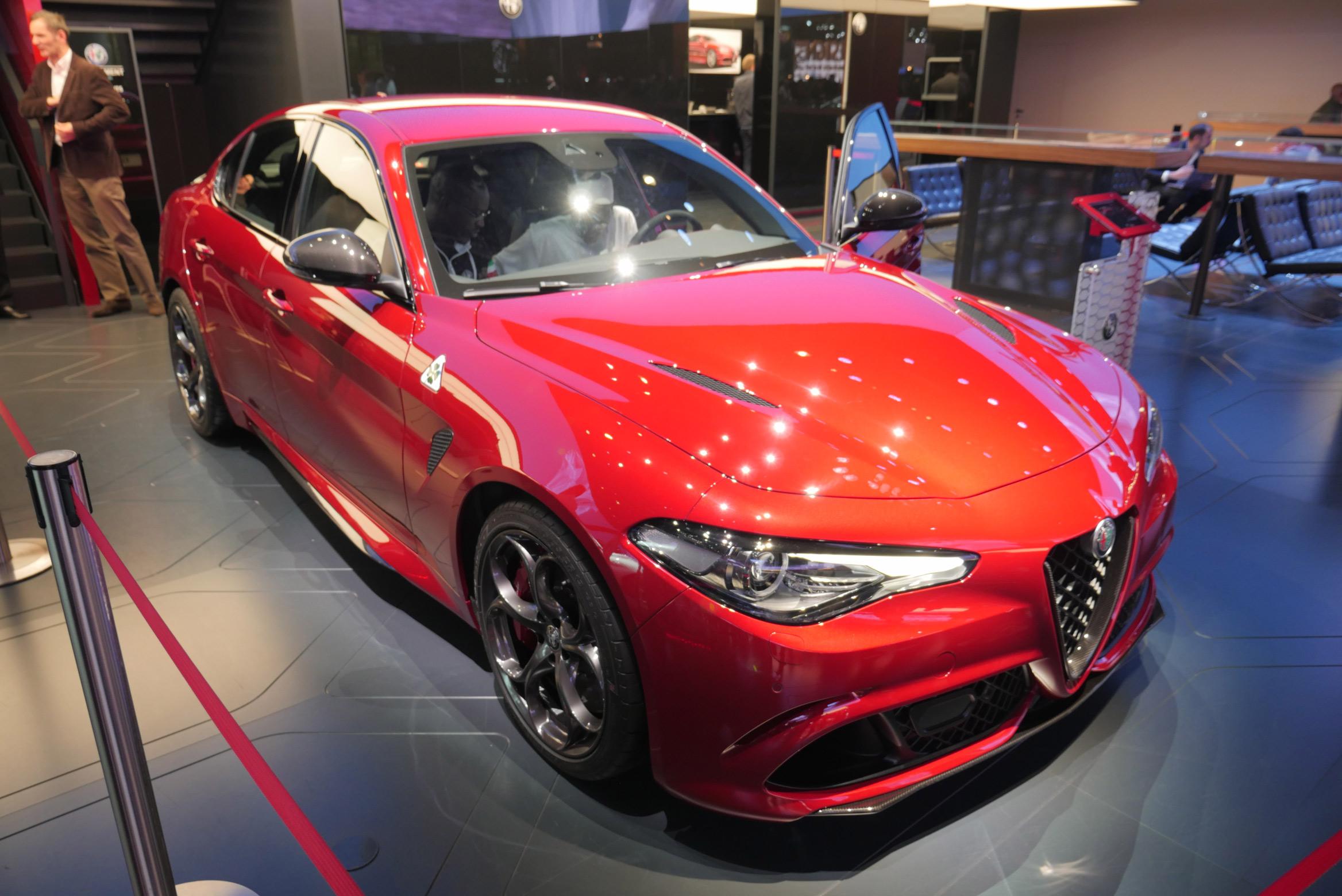 Alfa Romeo Giulia Quadrifoglio Paris Motor Show 2016