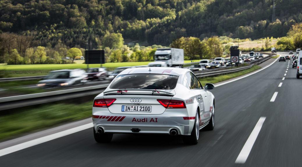 Audi Digital Motorway Test Bed