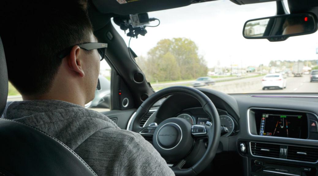 delphi self-driving interior