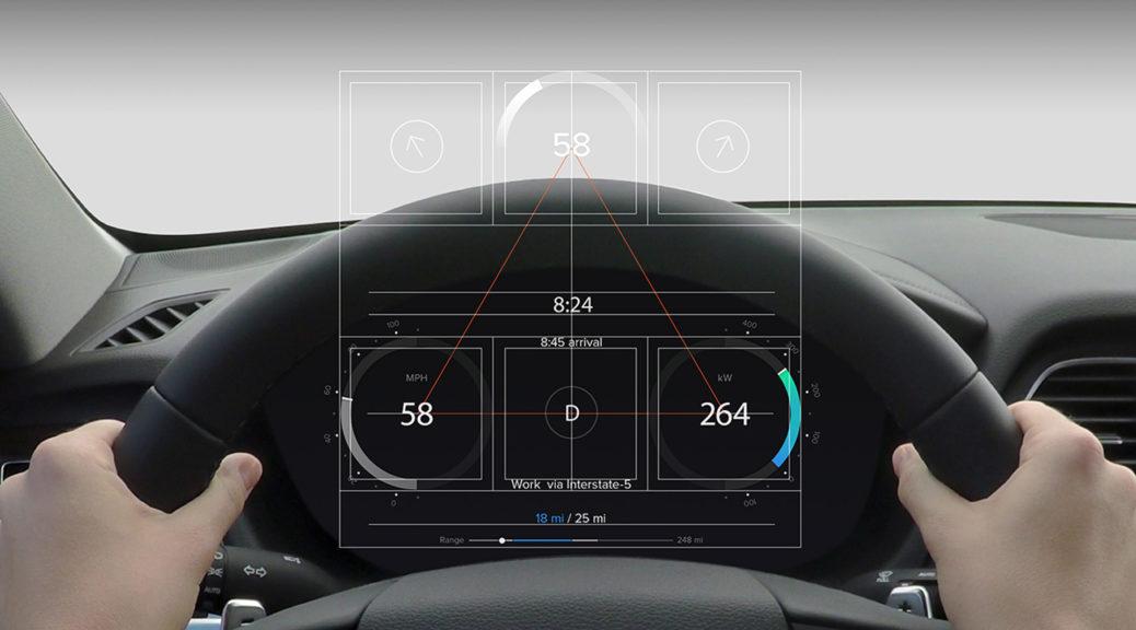 Hyundai self-driving car interior
